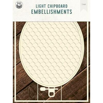P13 Light Chipboard Album Base EMBROIDERY HOOP 03