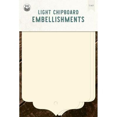 P13 Light Chipboard Album Base TAGS 06