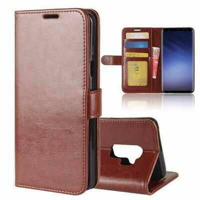 Bakeey Bracket Flip Card Slots PU Leather Case for Samsung Galaxy S9