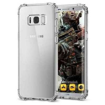 Air Cushion Corners Transparent TPU Case For Samsung Galaxy S8