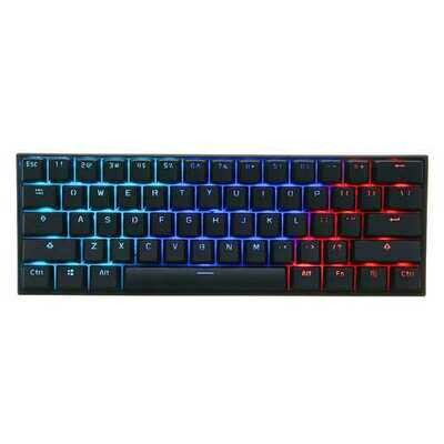 [Gateron Switch]Anne Pro 2 60% NKRO bluetooth 4.0 Type-C RGB Mechanical Gaming Keyboard