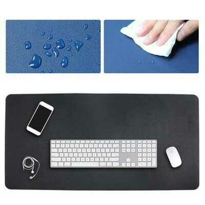 120x60cm Both Sides Two Colors PU leather Mouse Pad Mat Large Office Gaming Desk Mat