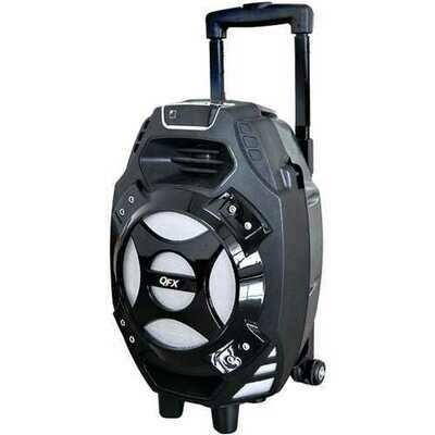 QFX PBX-61081BTBLUE 2,600-Watt Portable Bluetooth Party Speaker