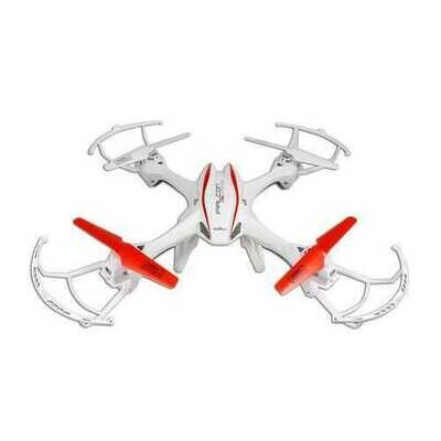 UDI U842 4-Channel 6 Axis Big UFO Drone RC Quadcopter with HD Camera - White