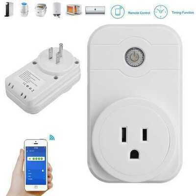 SW1 Wireless WIFI Socket Androind/iOS Phone Remote Control Smart Timer Socket Switch US Plug