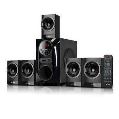 Axess Mini Entertainment System 5.1 Channel BTUSBSDFM 20w+10Wx5