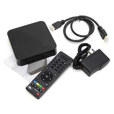 MXQ S805 1GB/8GB KODI 14.2 Quad Core Android 4.4 1080P HD H.265 HEVC TV Box Android Mini PC