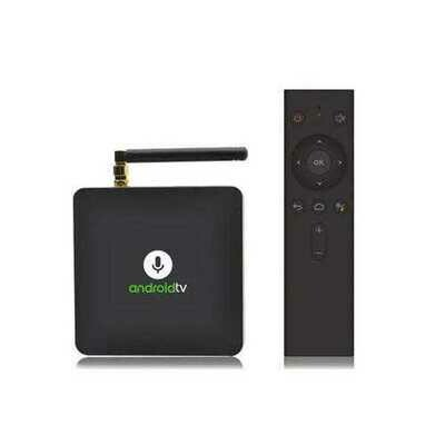 MECOOL KM8 S905X 2GB RAM 16GB ROM Google Certified Android 8.0 TV Box Mini PC with Voice Control