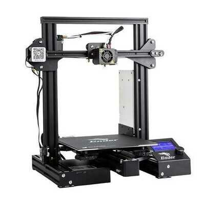 Creality 3D Ender-3 Pro DIY 3D Printer Kit 220x220x250mm Printing Size With Magnetic Removable Platform Sticker/Power Resume Function/Off-line Print/Patent MK10 Extruder/Simple Leveling