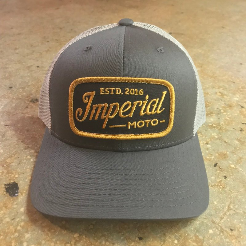 Imperial Moto Trucker - Charcoal/Grey