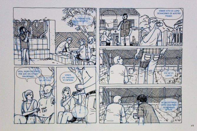 Paco Roca- Página de la casa 00160