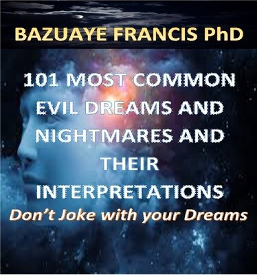 101 Most Common Bad Dreams and Nightmares with their Interpretations