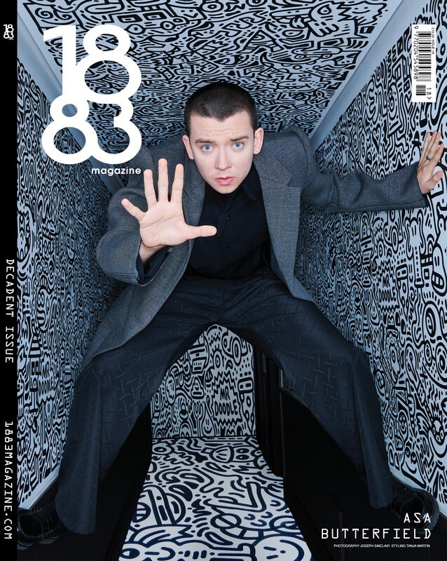 1883 Magazine Decadent Issue Asa Butterfield