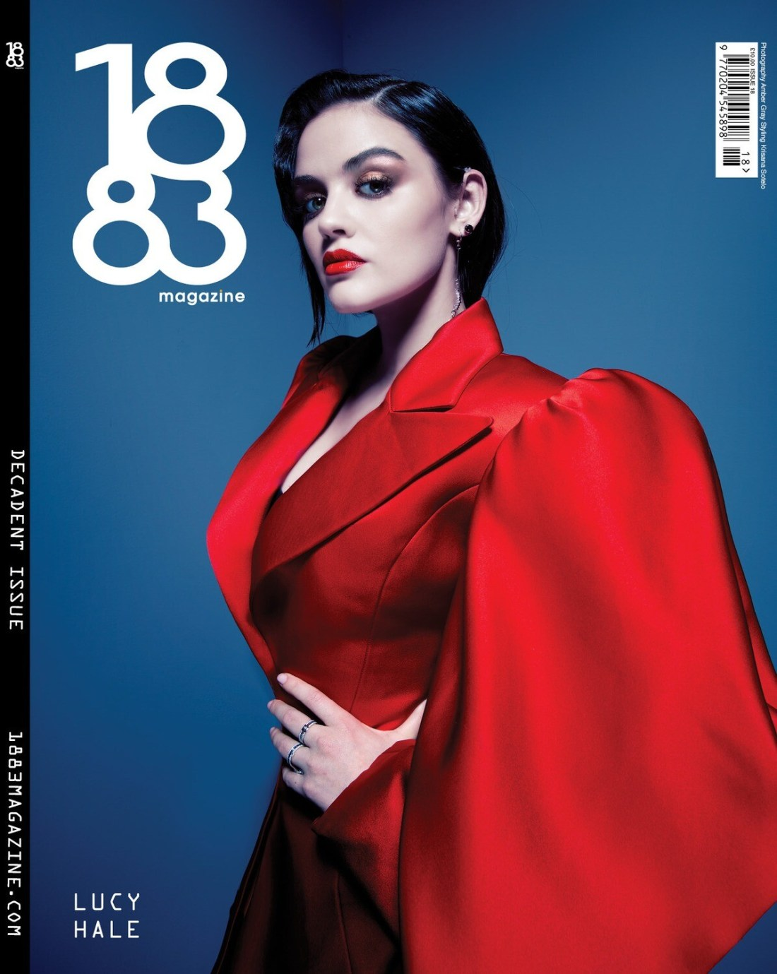 1883 Magazine Decadent Issue Lucy Hale