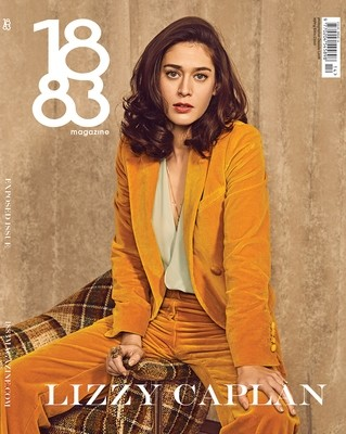 1883 Magazine Exposed Issue Lizzy Caplan