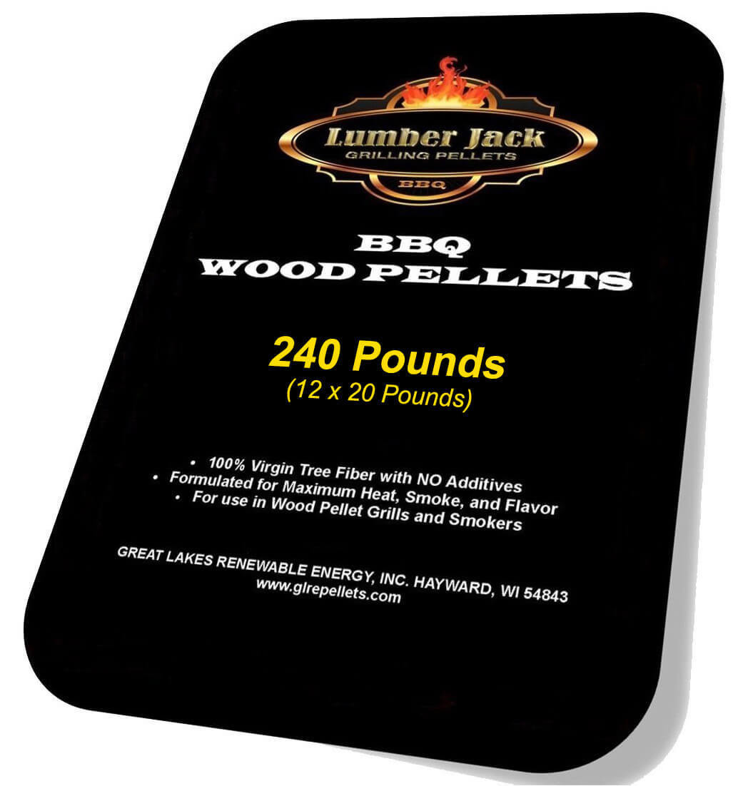 240 Pound Lumber Jack BBQ Pellets Variety Pack (Select 12 20-Pound Varieties)