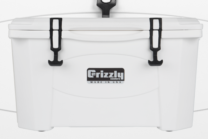 Grizzly 40 Quart Cooler - White (Free Shipping)