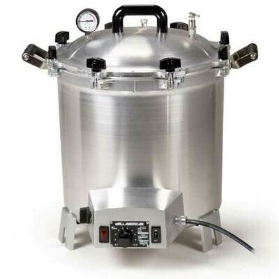 All American 41 Quart Benchtop Sterilizer - 120 volt