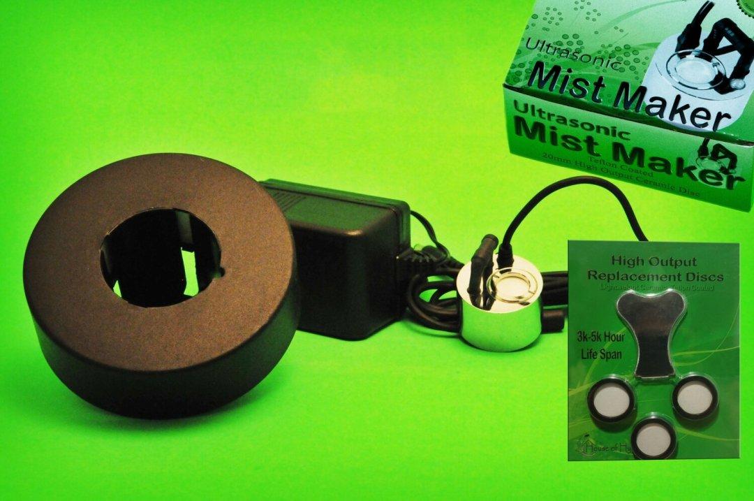 1 Disc Mist Maker Starter Kit - House of Hydro