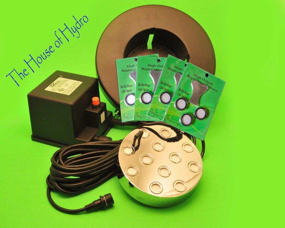 12 Disc Mist Maker Starter Kit - House of Hydro