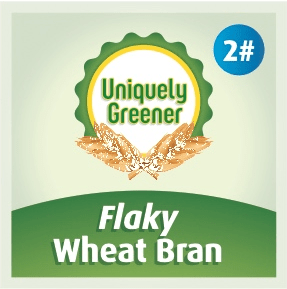 2 Pounds Flaky Wheat Bran