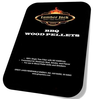 160 Pound Lumber Jack BBQ Pellets Variety Pack (Select 8 20-Pound Varieties)