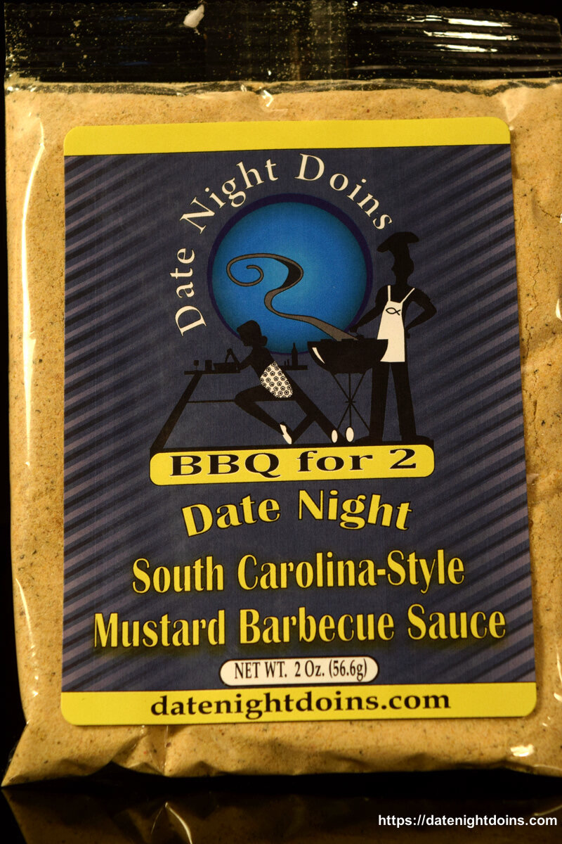Date Night Doins South Carolina Style Mustard Barbecue Sauce