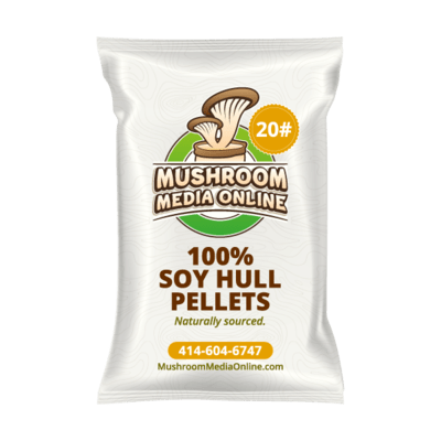 100% Soy Hull Mushroom Pellets (Free shipping)