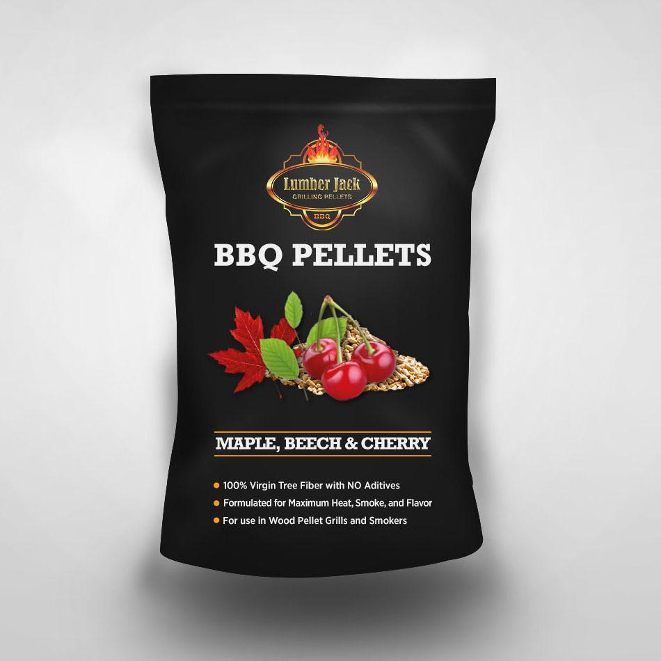 Lumber Jack Maple-Beech-Cherry (MBC) - Sweetwood Blend BBQ Pellets