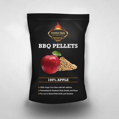 100% Apple Lumber Jack BBQ Pellets
