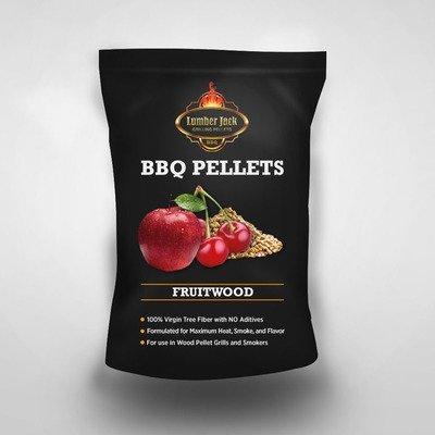 Fruitwood Blend Lumber Jack BBQ Pellets