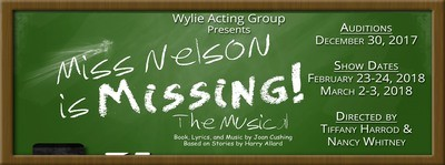 Show Poster - Miss Nelson is Missing