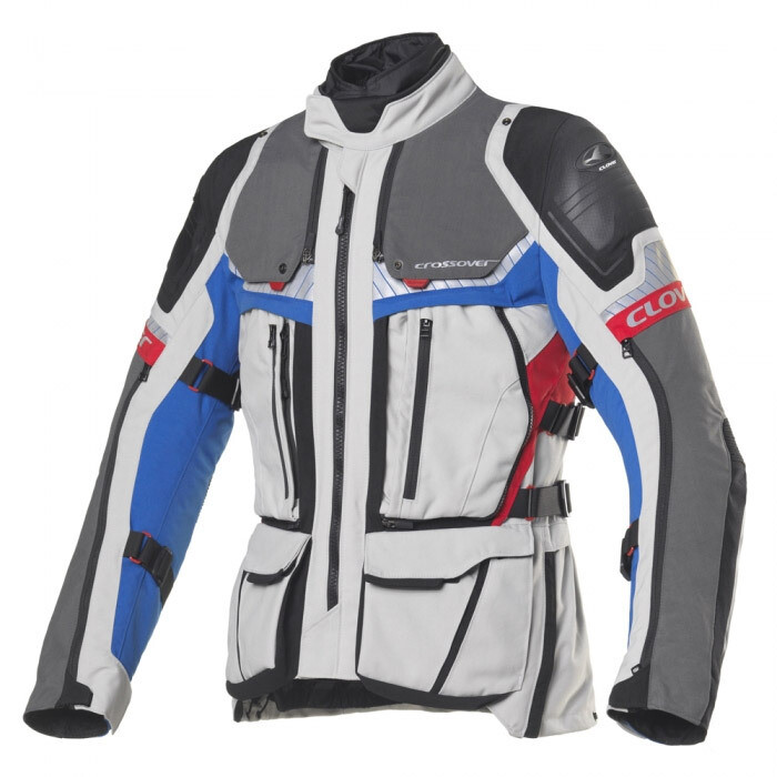 Giacca Clover CROSSOVER-4 WP AIRBAG Touring col. BL/GR