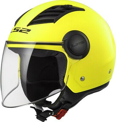 CASCO LS2 JET OF562 AIRFLOW col. FLUO