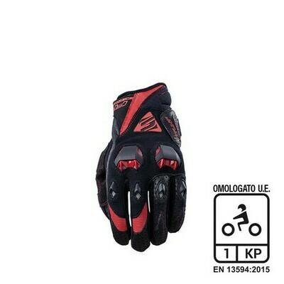 Guanti FIVE STUNT EVO black/red