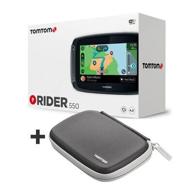 NAVIGATORE MOTO TOM TOM RIDER 550 Special Edition