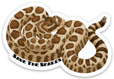 Northern Pacific Rattlesnake Sticker