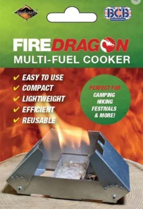 FireDragon Cooker & Windbreak