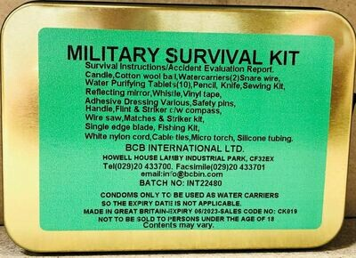 MILITARY SURVIVAL KIT (1)