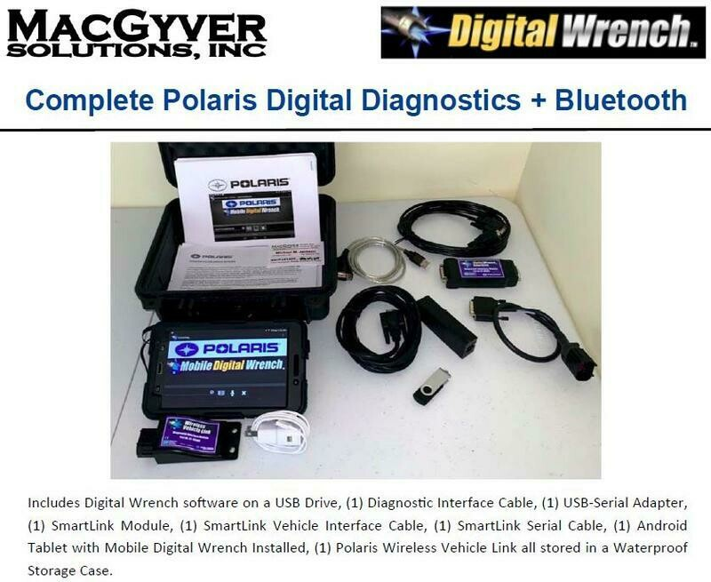 POLARIS DIGITAL WRENCH DIAGNOSTICS KIT WITH BLUETOOTH