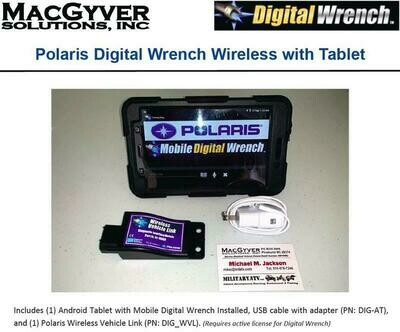 POLARIS DIGITAL WRENCH MOBILE BLUETOOTH