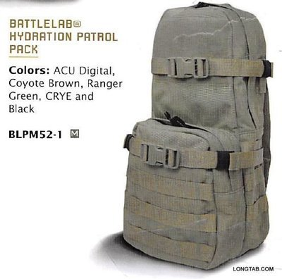 3-Pocket 100oz Hydration Backpack