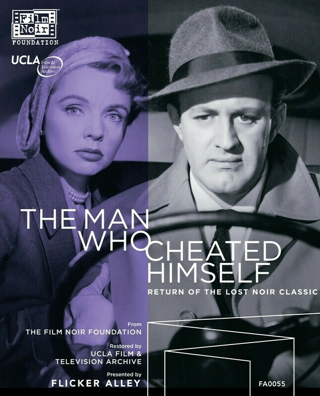 THE MAN WHO CHEATED HIMSELF (1951) Fully restored on Blu-ray & DVD!