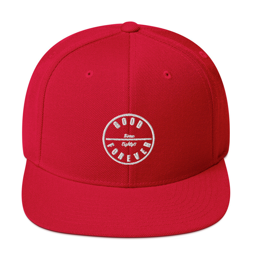 Good Forever 86 Candy Red Snapback