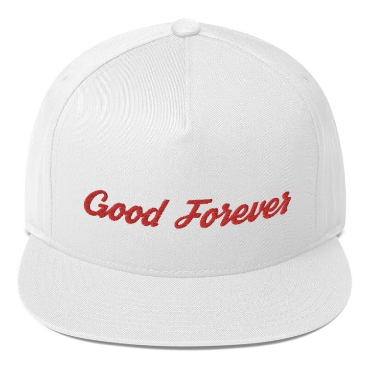 Good Forever Signature Candy Red Alt. Flat Bill Cap