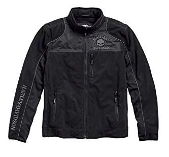 Manteau Shell Polaire pour Homme Harley-Davidson® SKULL Polyester Noir 98576-16VM
