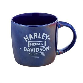 Tasse à café Harley-Davidson® Blue City Porcelaine Lustré 14 oz. 3CLM