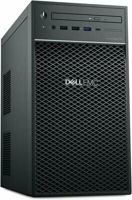 Dell PowerEdge T40 Tower Server, Intel Xeon E-2224G Processor 3.5GHz, 8GB DDR4 RAM, 1TB 7200 RPM HDD, DVDRW
