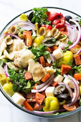 Antipasto Salad (1 pt)