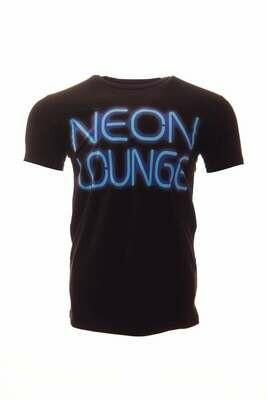 Krakatoa UV Reactive Ink Tiki Dive Bar Mens T-Shirt / Tee - 'Neon Lounge'